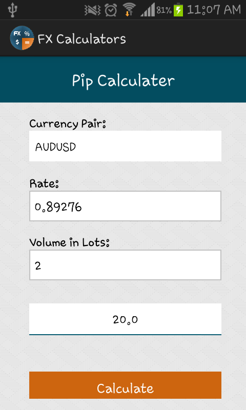 Forex risk calculator download